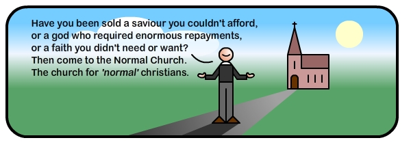 A normal church for normal people?